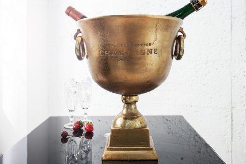 Misa Royal 40 cm ekskluzywna misa szampana  złota