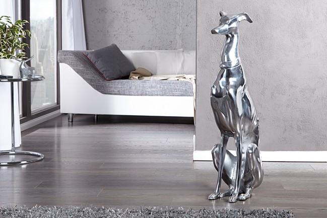 Pies GREYHOUND art. dekoracyjny figurka