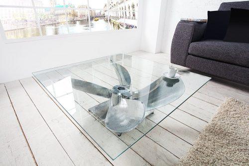 Stolik kawowy OCEAN 85 cm śruba