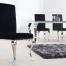 krzesło MODERN BAROCK nowoczesne chrom