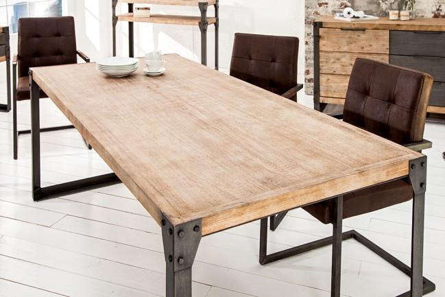 Stół FACTORY akacjowy   200cm
