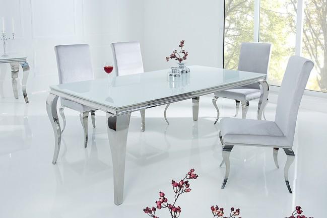 Stół MODERN BAROCK 180cm nowoczesny BIAŁY