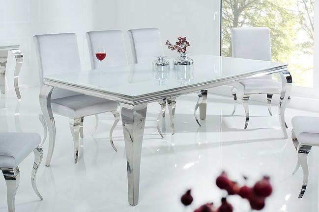 Stół MODERN BAROCK 200cm nowoczesny BIAŁY