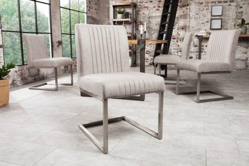 krzesło ze stali nierdzewnej BIG ASTON