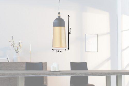 Elegancka lampa wisząca MODERN CHIC czarna