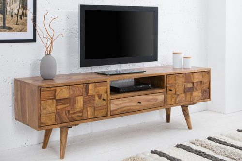 Masywna deska TV MOSAICO 140cm