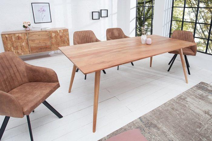 Masywny stół MYSTIC 200cm z drewna akacjowego