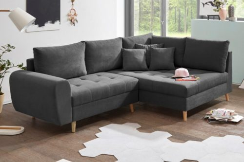 Sofa scandinavia  antracyt 250cm