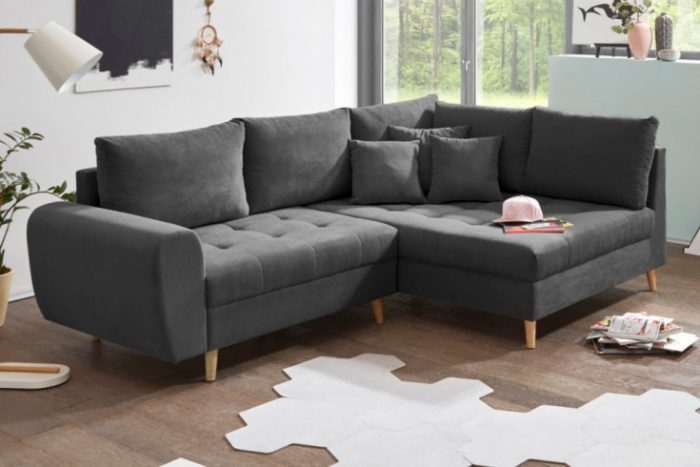 Sofa scandinavia  antracyt 250cm