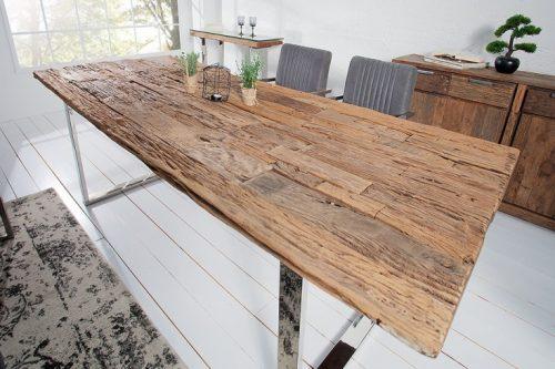 Masywny stół BARRACUDA  200cm drewno tekowe