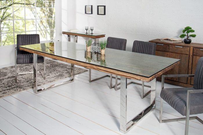 Masywny stół BARRACUDA 240cm drewno tekowe