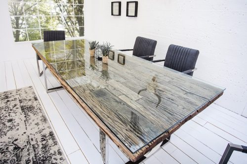 Masywny stół BARRACUDA 180cm drewno tekowe