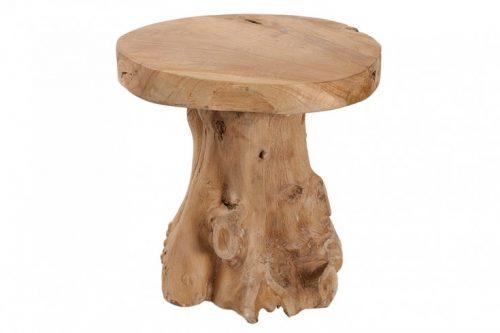 Masywny stolik ROOT z drewna tekowego