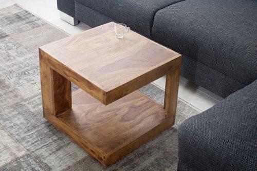 Stolik kawowy GIANT 45cm z litego drewna