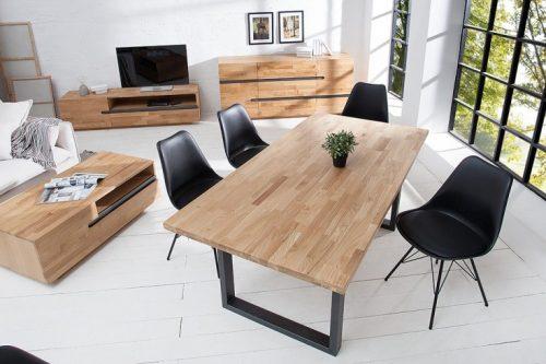 Stolik kawowy Wotan nowoczesny designerski olejowany