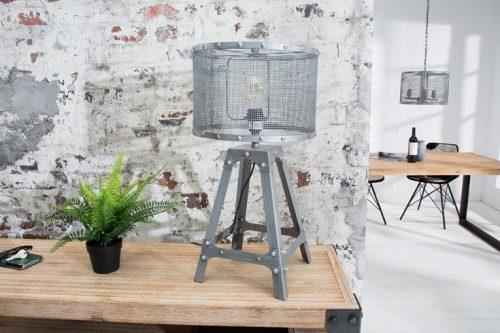 Niezwykła lampa stołowa LOFT 60 cm w stylu industrialnym