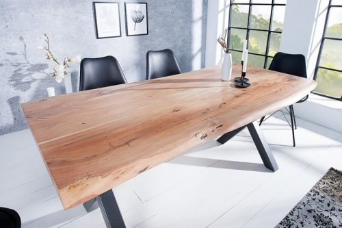 Masywny stół MAMMUT 180cm z litego drewna akacjowego