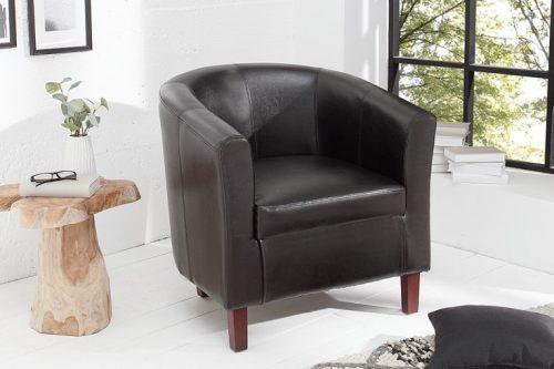 Ponadczasowy fotel Hemingway w kolorze espresso