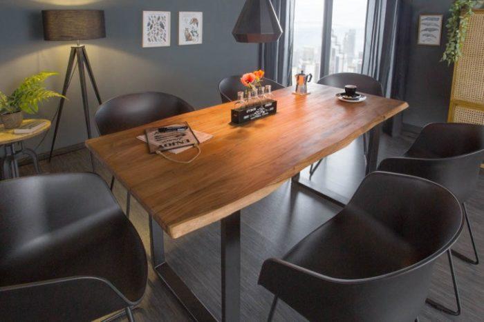 Stół MAMMUT 140cm akacja