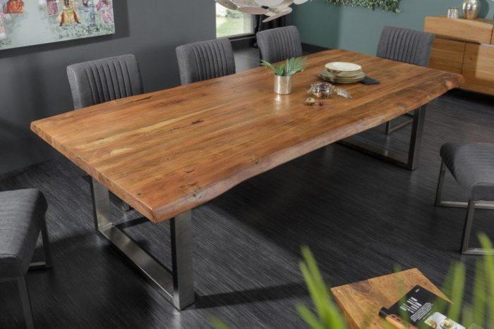 Stół MAMMUT 220 cm akacja masywny