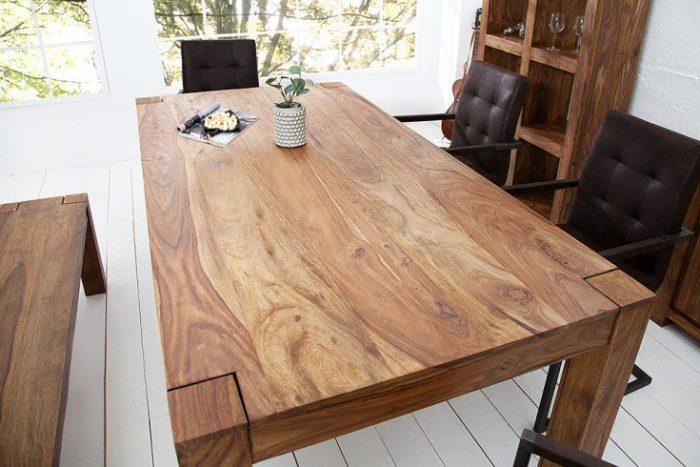 Masywny stół MAKASSAR 200 cm Sheesham