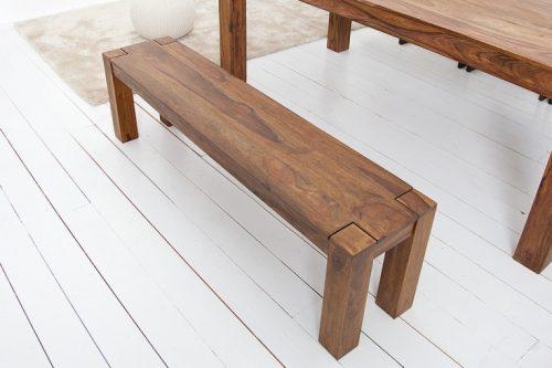 Solidna ławka z serii Makassar 160cm