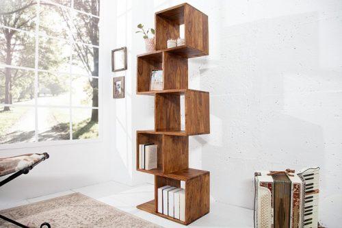 Masywna półka na książki MAKASSAR 150cm