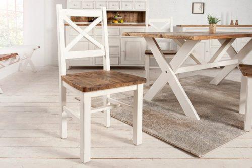 Drewniane krzesło Byron w stylu vintage