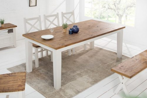 Drewniany stół BYRON 200cm w stylu Vintage