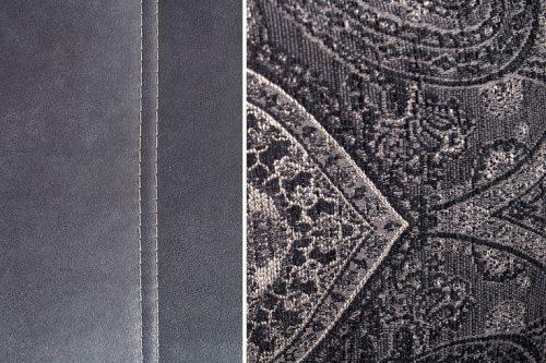 Nowoczesna Sofa GENESIS 360cm w odcieniu szarości