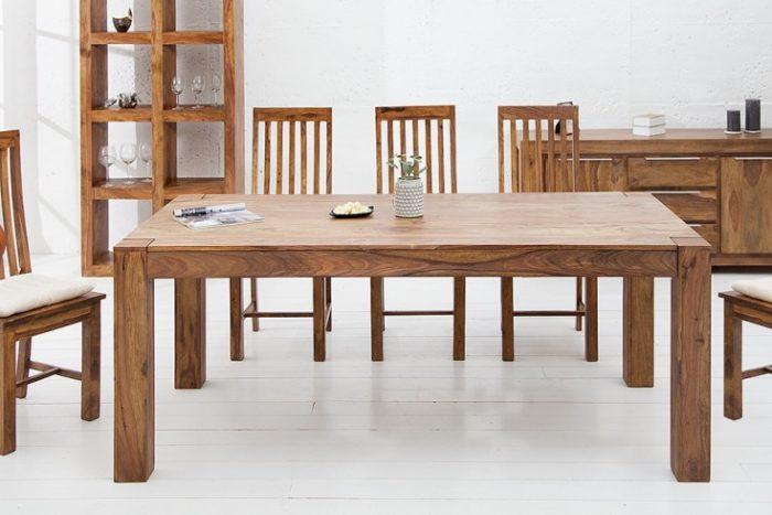Stół MAKASSAR 160 cm drewniany