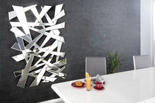 Lustro Split 120 cm fasetowe designerskie