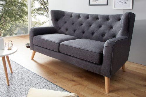 Dwuosobowa sofa HYGGE w stylu skandynawskim