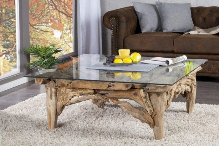RIVERSIDE stolik kawowy 100x100 cm