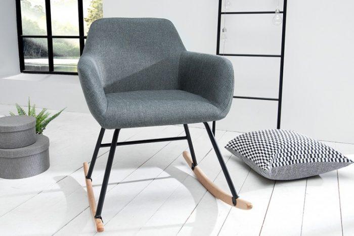 Fotel bujany BALTIC ciemnoszary