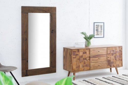Masywne lustro HEMINGWAY 160cm drewno tekowe