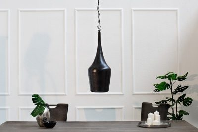 Nowoczesna lampa wisząca ORIENT S czarna