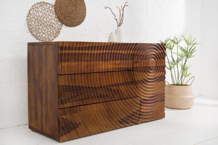 Solidny kredens ILLUSION 120cm drewniany