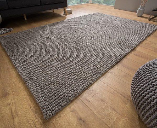 Dywan Wool Antracyt 160x240cm Ręcznie Robiony