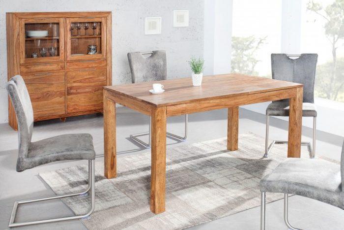Stół PURE 140cm x 90cm drewno Sheesham