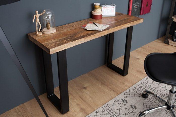 Stół konsola IRON CRAFT 115cm industrialny styl