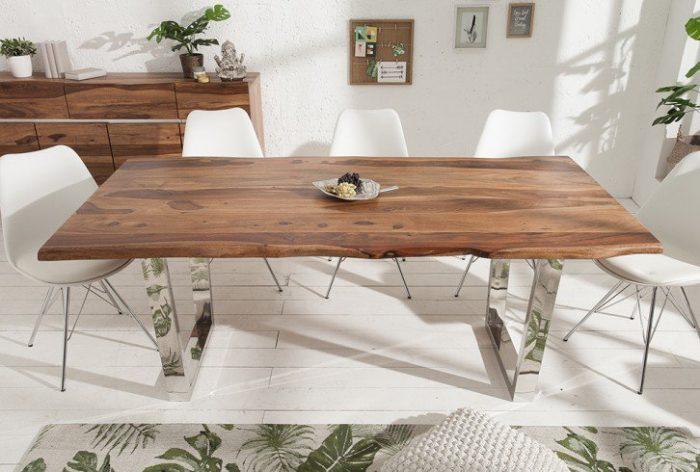 Stół Sheesham MAMMUT 200cm Masywny lite drewno