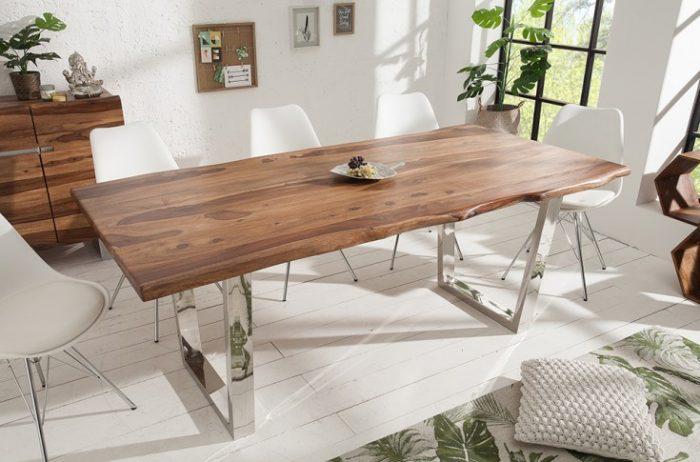 Masywny stół z drewna Sheesham MAMMUT 180cm