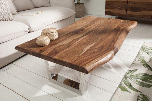 Mammut 110cm drewno Sheesham stolik kawowy