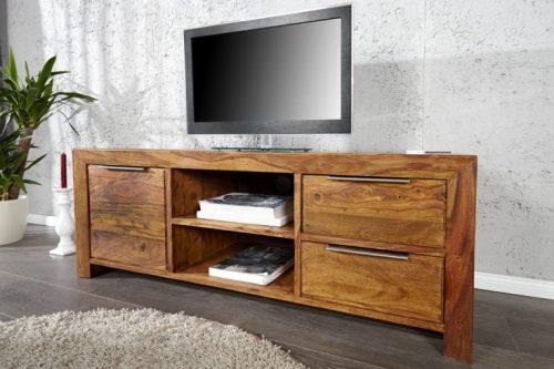 Komoda TV PURE 135cm lite drewno Sheeshaam