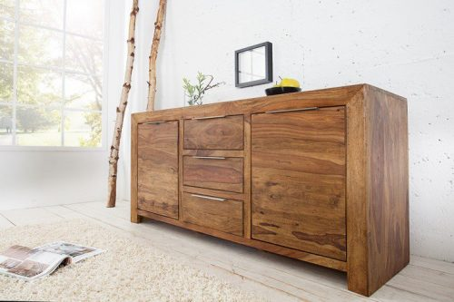 Solidna komoda PURE 140cm drewno Sheesham