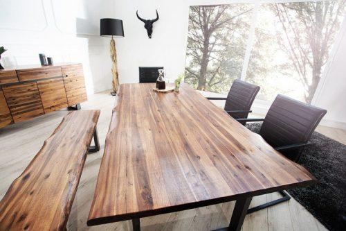 Stół GENESIS 180 cm z litego drewna akacjowego