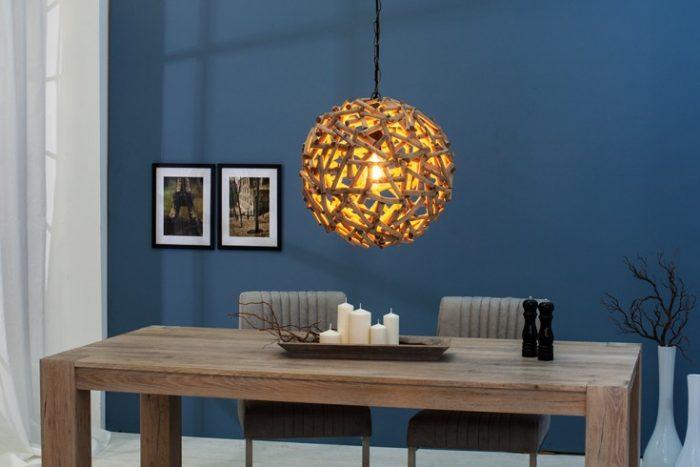 Lampa wisząca PURE NATURE 40cm ręcznie robiona