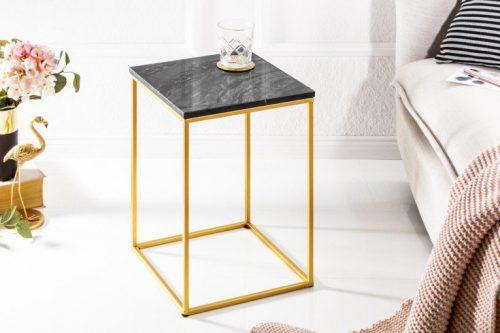 Elegancki stolik NOBLE IV czarny marmur