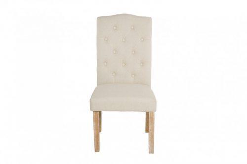 Krzesło LONG ISLAND beżowe Chesterfield
